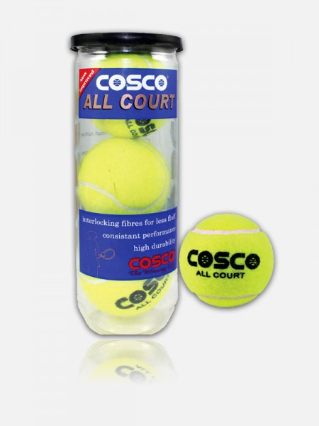Cosco All Court Tennis Ball , 11004