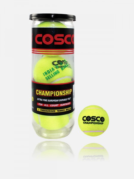 Cosco Championship Tennis Ball , 11001