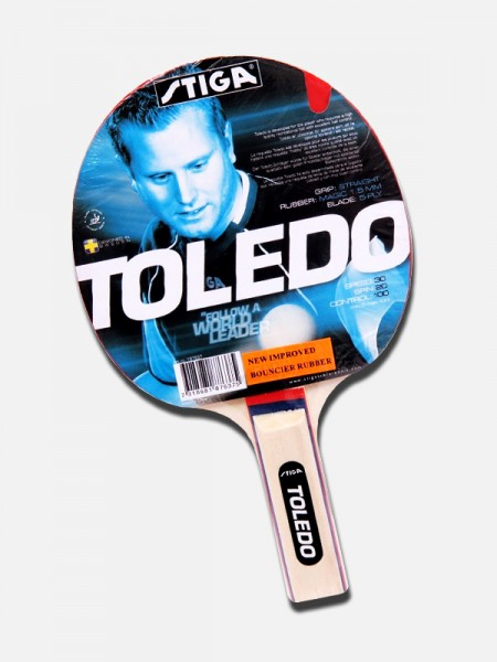 Stiga Toledo Table Tennis Bat , 32093