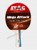 Stag Ninja Attack Table Tennis Racket  ITTF Approved