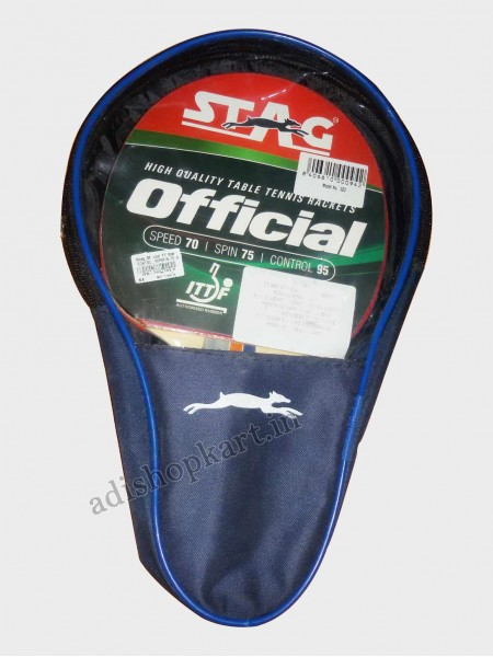 Stag Official Table Tennis Racket  ITTF Approved