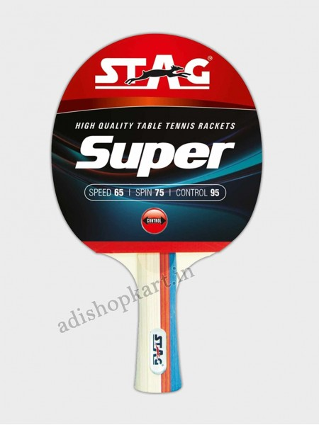 Stag Super Table Tennis Racket  ITTF Approved