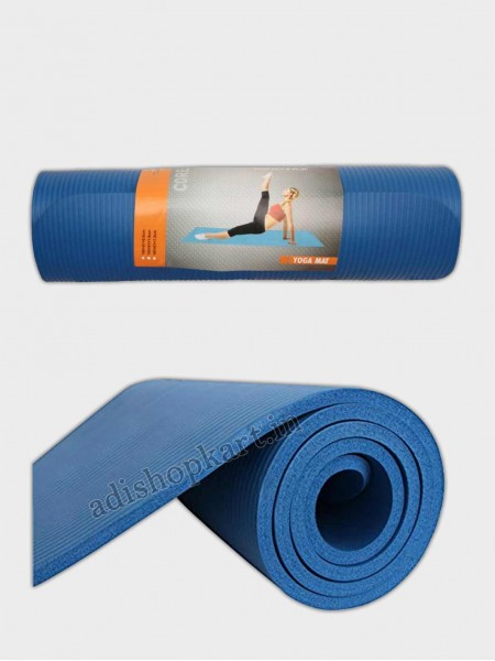 Nivia Yoga Mat NBR Single Layer - 1cm