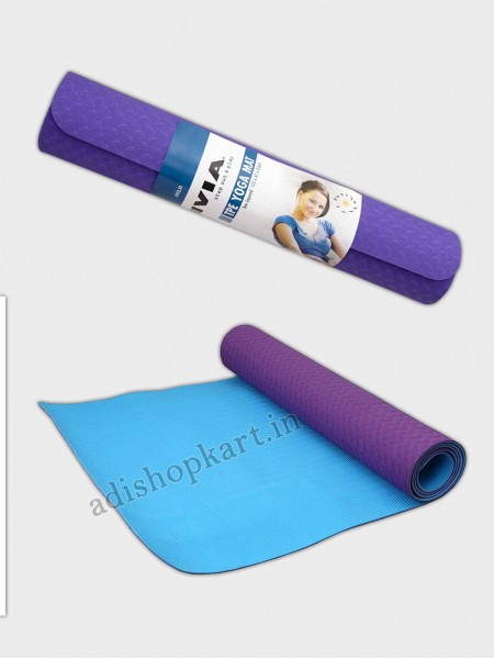 Nivia Yoga Mat PVC Two Layer - 6mm