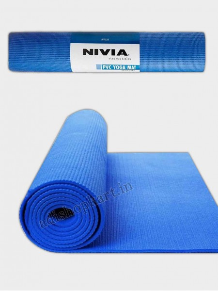 Nivia Yoga Mat PVC Single Layer - 6mm