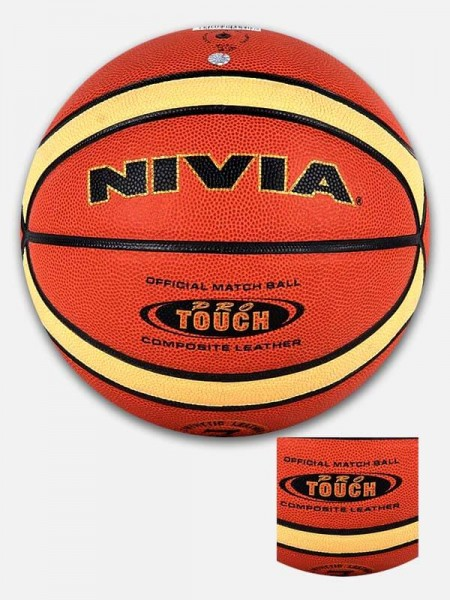 Nivia Pro Touch Basketball (BB-241)