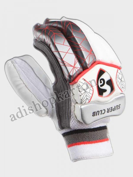 SG Super Club Traditional Cricket Batting Gloves