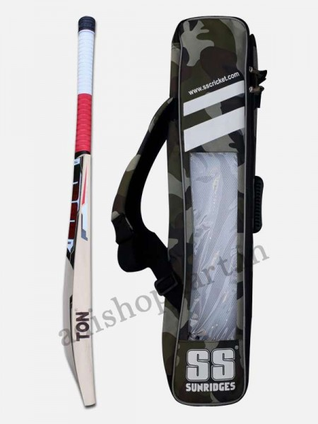 SS Master 9000 English Willow Cricket Bat & Free oil carte kit