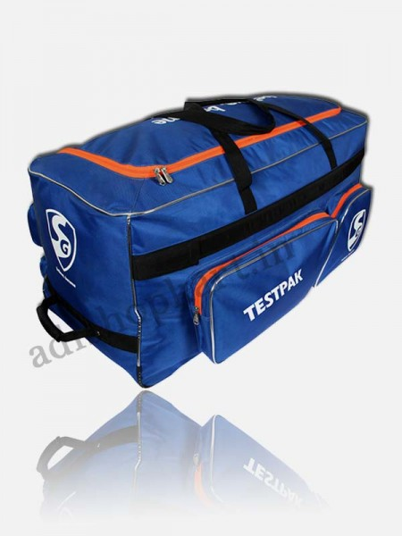 SG Testpak Cricket Kit Bag (Wheelie)