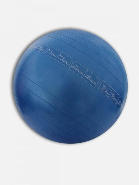 Nivia Anti Burst Exercise Ball' with foot pump, AB-582
