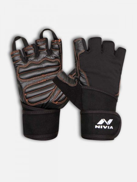 Nivia Cobra-With Strap Sports GYM Gloves