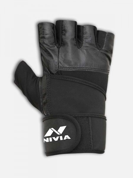 Nivia Pro-Wrap GYM Gloves, GG-921