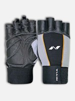 Nivia Tough GYM Gloves, with G-20-20 Sipper