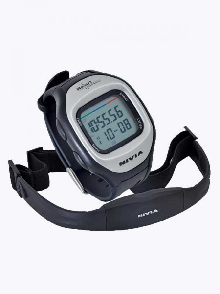 Nivia Heart Rate Monitor Stop Watches (Black)