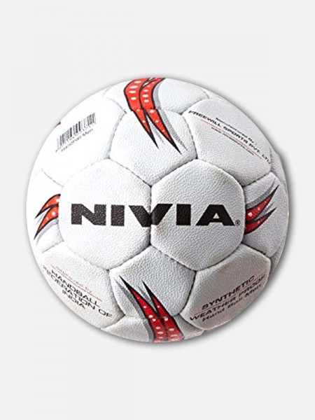 Nivia Synthetic Handball, Sub‐Jr (White)