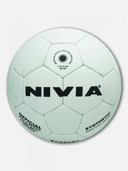 Nivia trainer Synthetic Handball, Sub‐Jr (White)