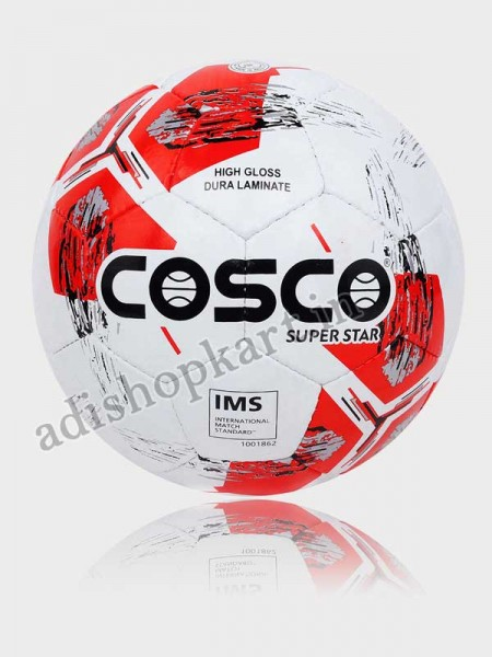 Cosco  Superstar Football, Size - 5