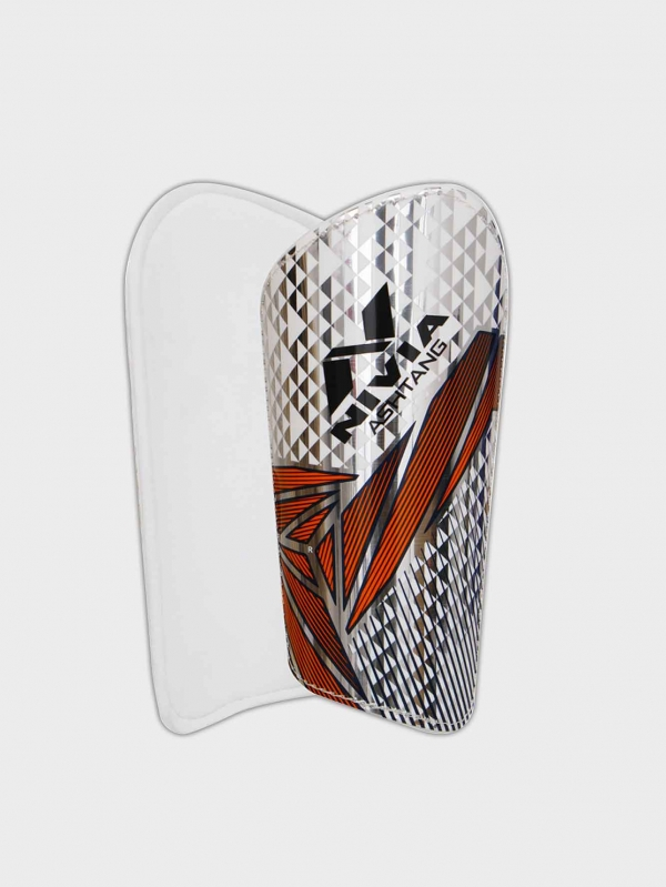 Nivia Ashtang with sleeve Football Shin Guard